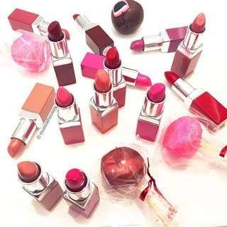 Various Clinique Lip Pops