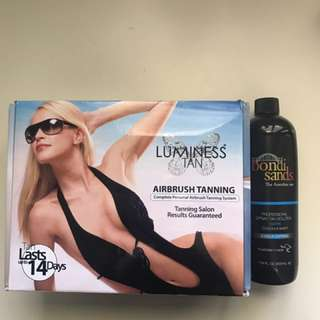 Luminess at home spray tan kit