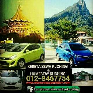 Kuching Car Rental Services!!