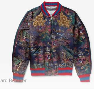 New!- GUCCI X Donald Duck 織錦 2017 Jacquard Bomber Jacket (全新,從未穿過never been worn)