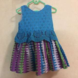 Preloved handmade dress