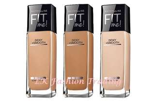 🚚 💕 Instock 31-07-2018 💕 Maybelline Fit Me DEWY + Smooth Foundation