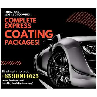 Car Grooming / Coating Services