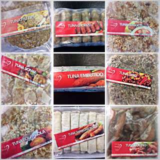 TUNA FROZEN PRODUCTS