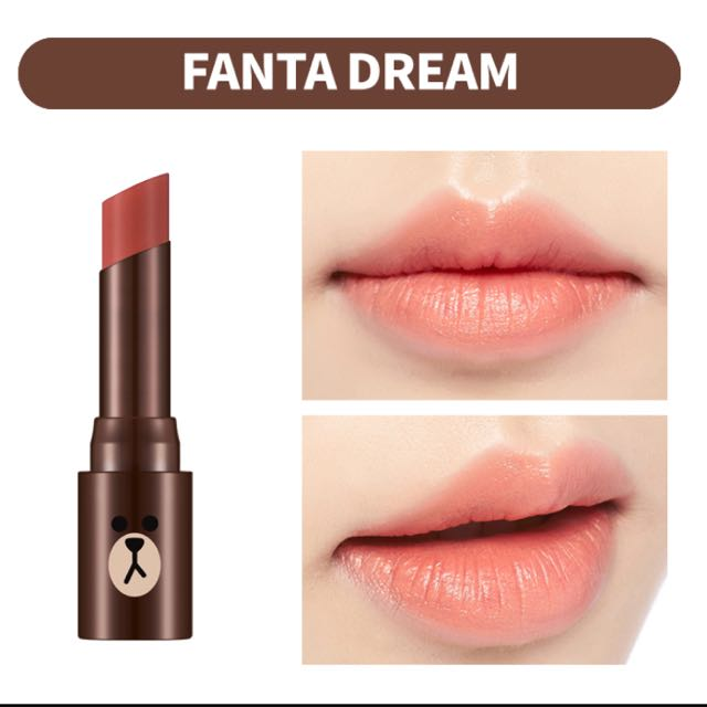 $10 Sale! BNIB Missha Line Friends Lipstick In Fanta Dream