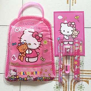 Hello Kitty Goodie Bag With Stationery / children day gift