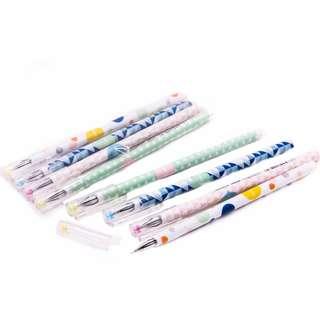 Premium Erasable Jewel Fine Tip Gel Pen Set