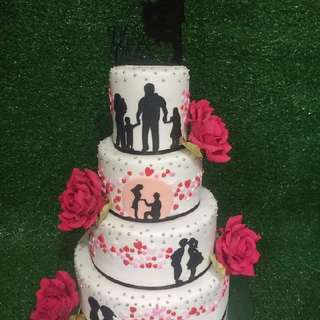 Wedding Cake by Sweet - O - Cakesion