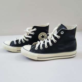 Converse Leather All Star High cut shoes (Authentic)