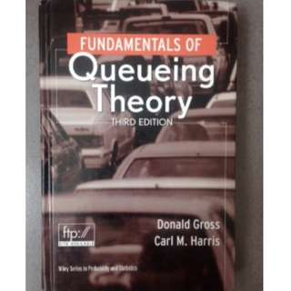 原文 Fundamentals of Queueing Theory #教科書出清 電機系