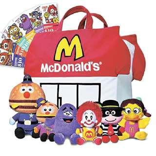 Macdonald Toys **Rare**/ 絕版 Macdonald 叔叔樂園人物