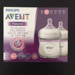Philips Avent 125ml 0m+ bottle