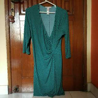 Laundry By Design Green Plump Dress