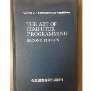 原文 THE ART OF COMPUTER PROGRAMMING #教科書出清 電機系