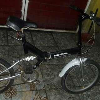 japan folded bike