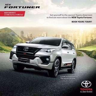 Toyota Fortuner TRD 2017