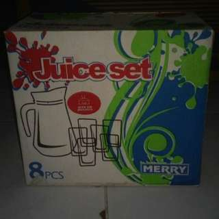 Gelas Juice Set