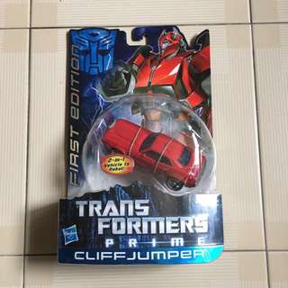 Hasbro transformers Prime cliff jumper