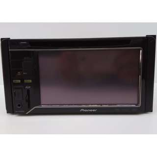 Pioneer AVH-P3250DVD 4-Channel DVD / CD / VCD Double Din AV Receiver with 5.8-inch LCD Color Display and iPod / USB Direct Connection.