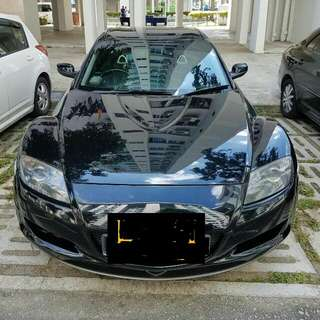 MAZDA RX8 AUTO 2007 TIP TOP CONDTION (BEST PRICE IN TOWN) (SGPORE SCRAP CAR)
