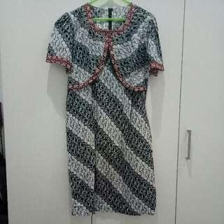 Batik Keris Bolero Dress