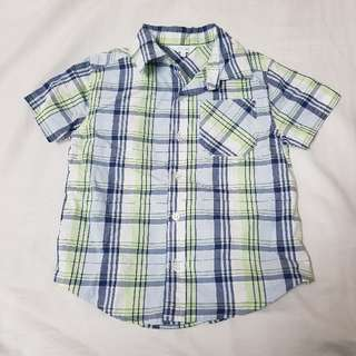 Brand new mix kids size 3 short sleeve top shirt stipes fashion toddler clothes