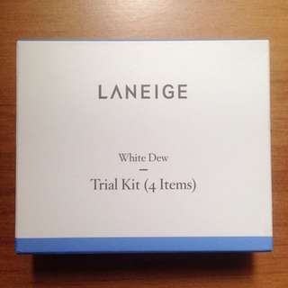 Laneige White Dew Trial Kit