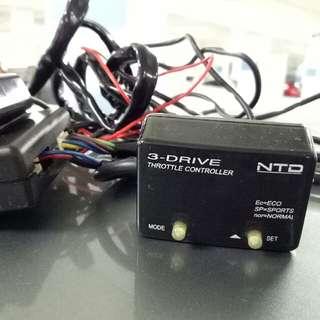 E-Drive Throttle Control