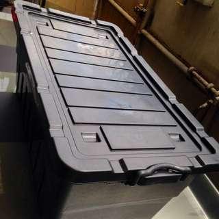 Plastic Box 78 Liters Stackable Storage Deco Box