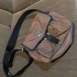 Authentic Prada Sling Bag Unisex