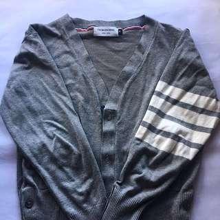 Thom Browne Classic Knitwear Grey