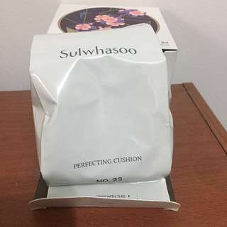 雪花秀 完美絲絨氣墊粉霜 補充包