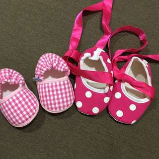 Baby shoe combo