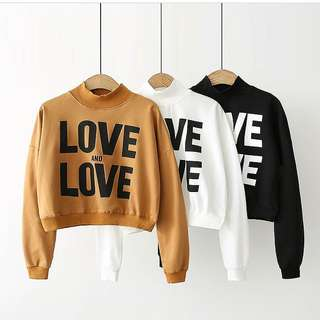 MLA-Outwear Jaket atau Sweater Love and love