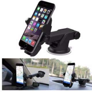 Car Windshield Dash Mount, 360° Universal Handphone Car Holder Cradle
