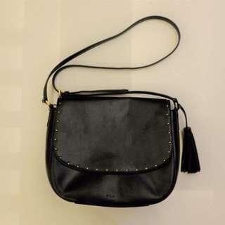 BNWT : Lauren Ralph Lauren Cobden Saddle Bag