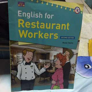 🚚 English For Restaurant Workers#教科書出清