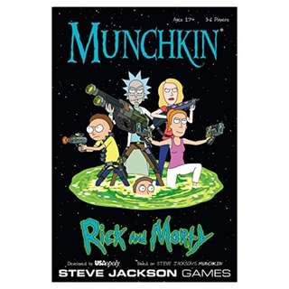 Munchkin: Rick and Morty Game