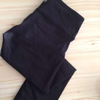 Nearly new Lululemon classic black color pants size 4