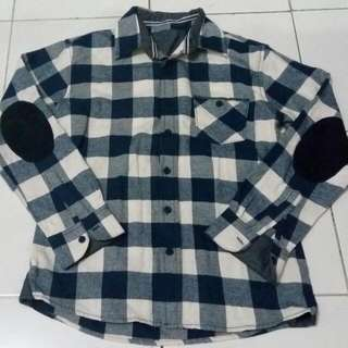 Kemeja Flanel 61 size XS fit to S