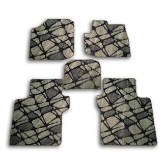 5pcs Honda City Customized High Quality Car Floor Mats- Pebble Brown- HCY-C045