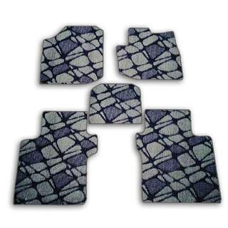 5pcs Honda City Customized High Quality Car Floor Mats- Pebble Grey- HCY-C046