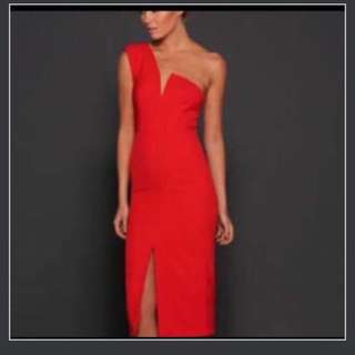 Elle Zeitoune janine red dress S8 - $190