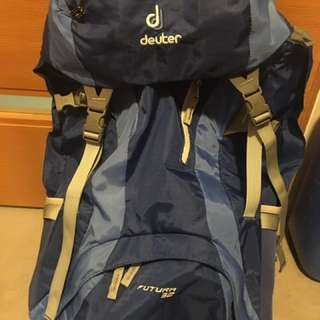 Preloved Rarely Used Deuter 32 L Futura Pack