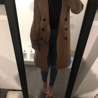 Caramel color coat