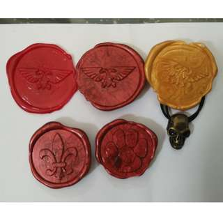 WH40K purity seals