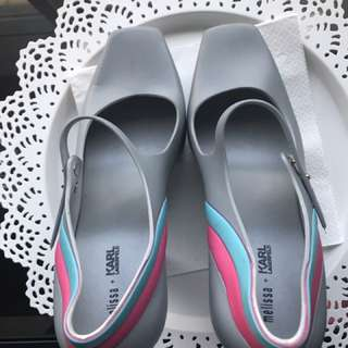 Authentic Melissa in Karl Lagerfield size 8