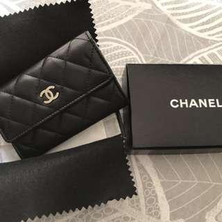 Chanel Calf skin card holder