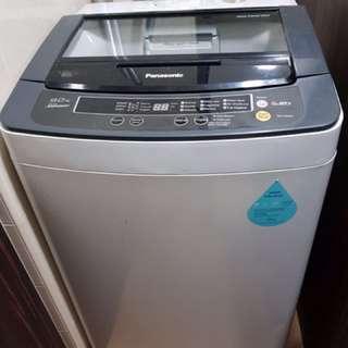 Washing machine n ikea bed