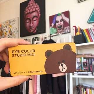 Missha Eyeshadow Line Edition